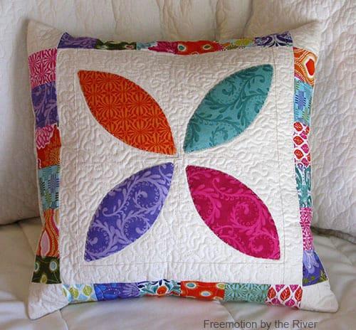 Orange Peel Pillow