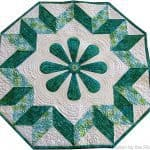 Spin the Wheel free quilt pattern