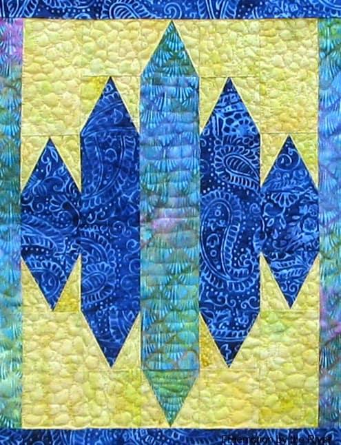 Quilting Blue Sapphire Quilt Pattern