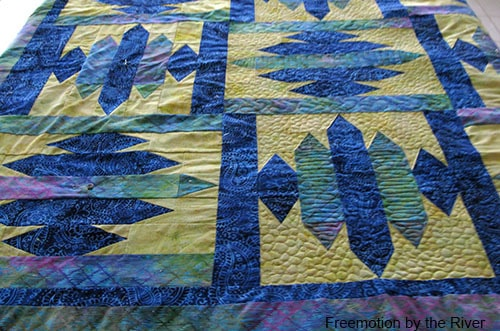 Quilting Blue Sapphire Quilt Pattern
