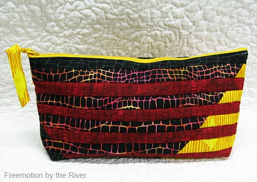 Interleave Pouch in Batiks