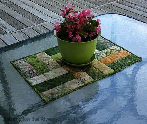 Batik Table Topper Tutorial