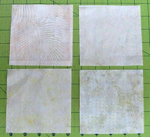 AccuQuilt Tree Owl Pillow tutorial cutting squares