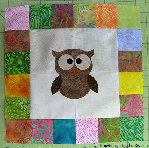 AccuQuilt Tree Owl Pillow tutorial cutting owl