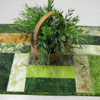 Easy Batik Table Topper Tutorial