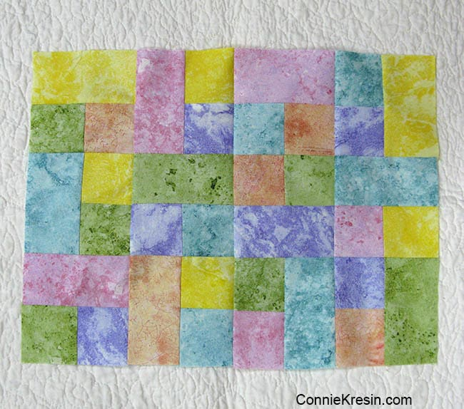 Happy placemats fast and easy tutorial placemat all pieced