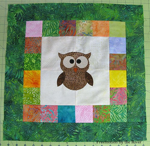 Tree Owl Quilt Pattern Tutorial