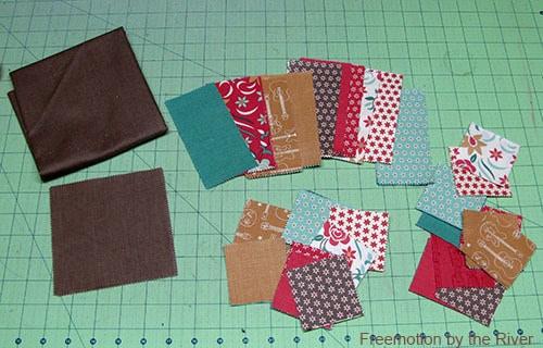 Honky Tonk Charm pack fabrics
