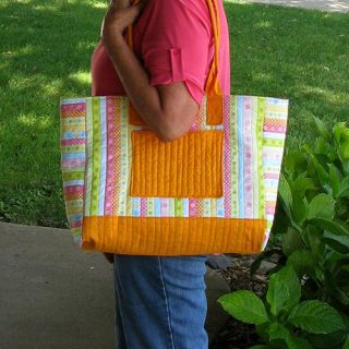 Fast and Easy Summer Tote Bag