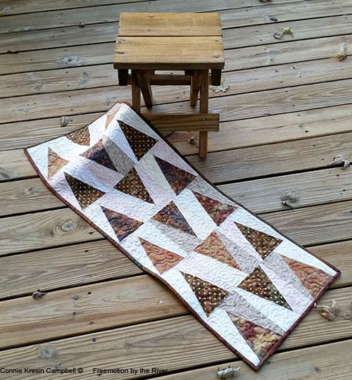 Trail Marker Table Runner