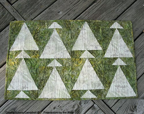 AccuQuilt Table Runner Tutorial