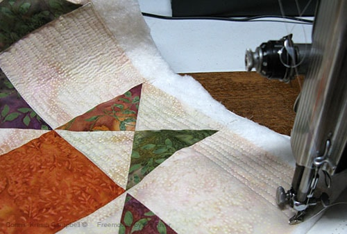 Tuscany Sun Ohio Star Table Runner