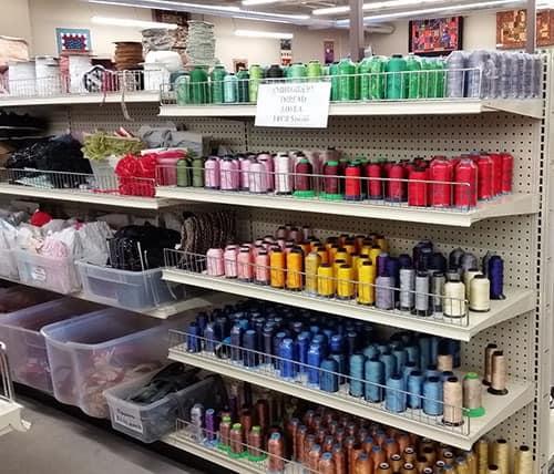 SR Harris fabric store