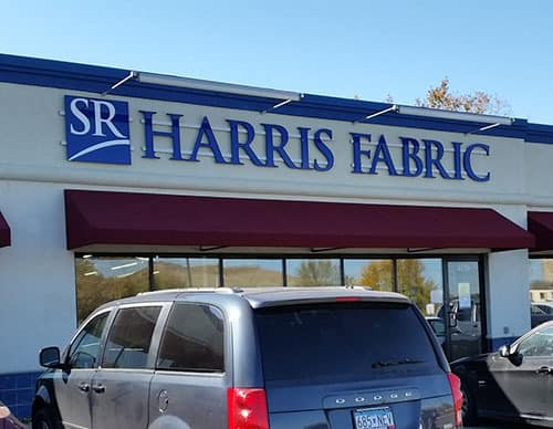 SR Harris fabric store