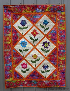 Summer Flowers quilt pattern