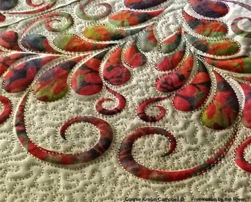 Kaleidoscope Kreator 3 with Island Batik fabrics in quilt