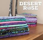 Desert Rose Drunkards Path Blocks