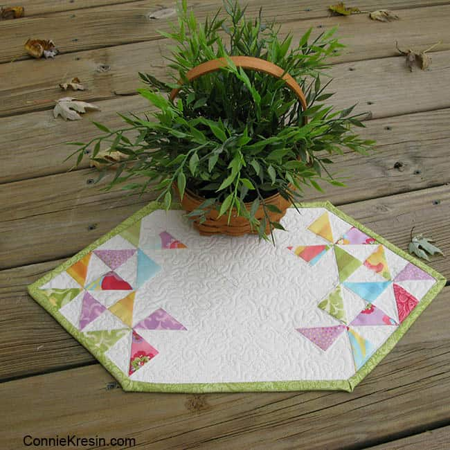 Fast and Easy Mini Table Topper Tutorial