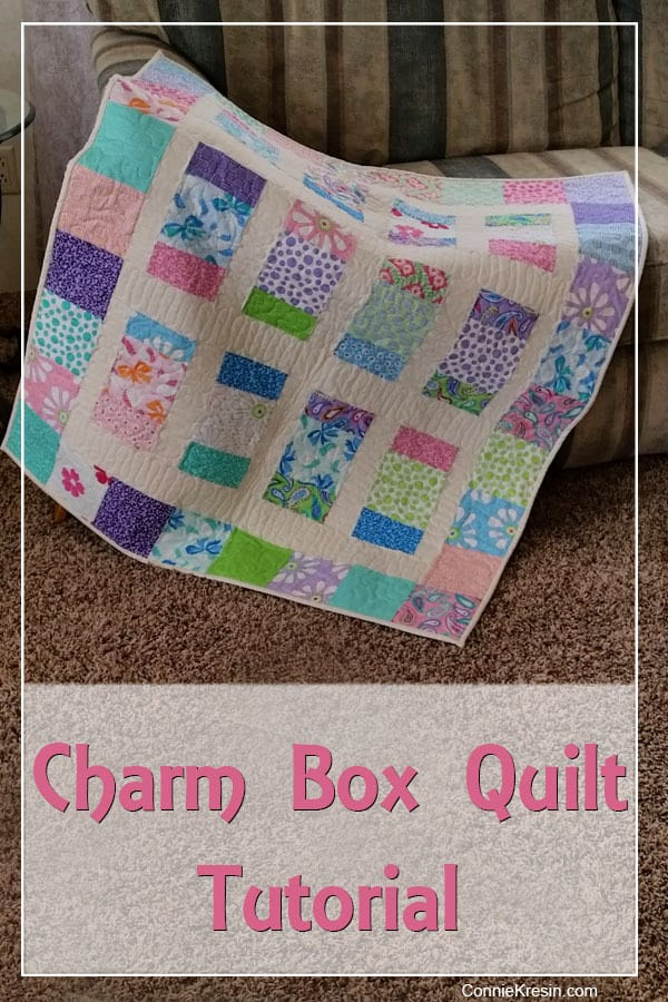 Charm Box Quilt Tutorial