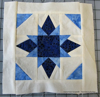 Easy to make Twinkle Star Block