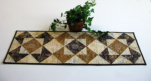 Roasted Coffee table runner