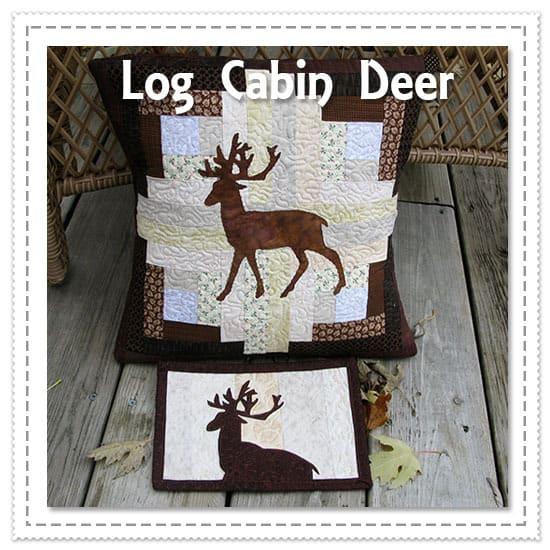 Log Cabin Deer