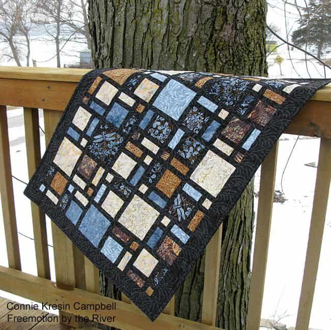 French Roasted Scattered MiniQuilt
