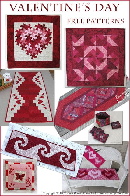 Valentine S Day Free Quilt Tutorials And Patterns