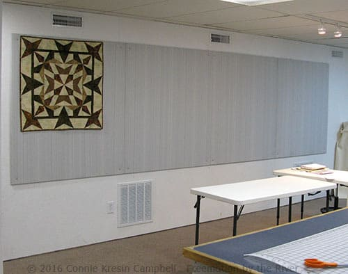 DIY Sliding Quilt Design Wall • Freemotion by the River : quilting design walls - Adamdwight.com