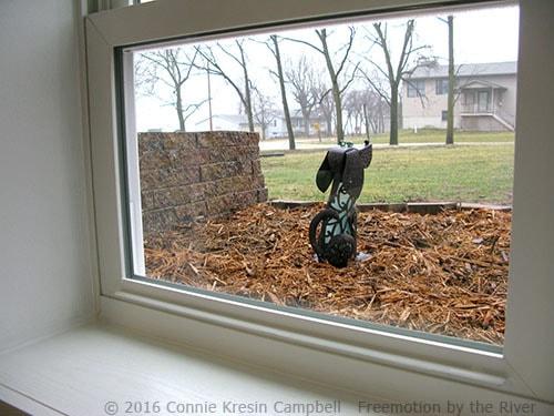 Quilt Studio Window