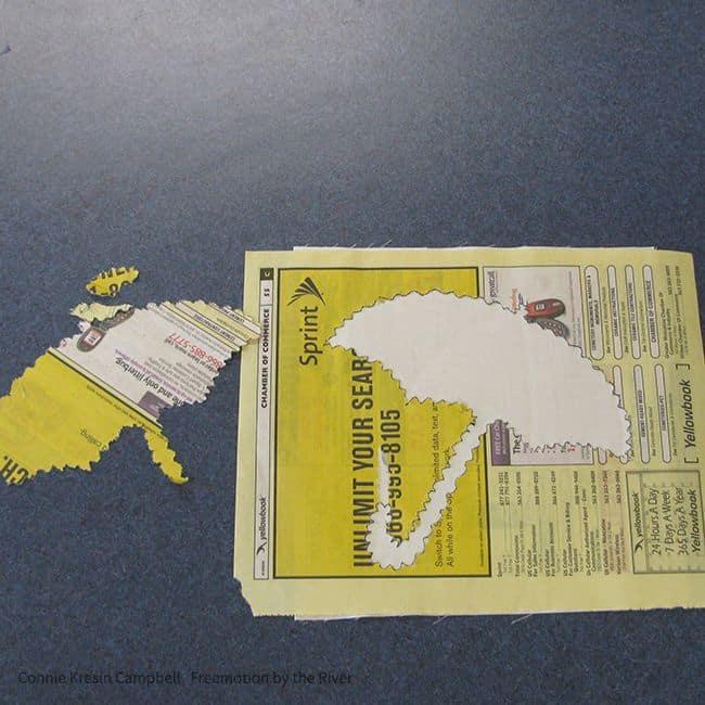 applique using phone book