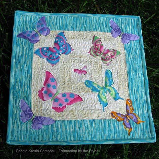 Crafted Applique Butterflies
