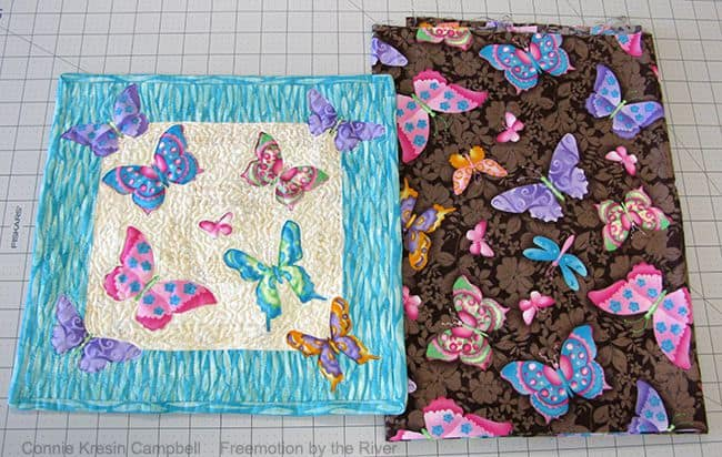 Butterfly Fabric used for applique