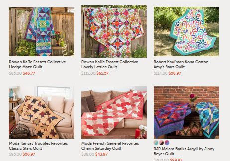 Craftsy quilt kits on sale