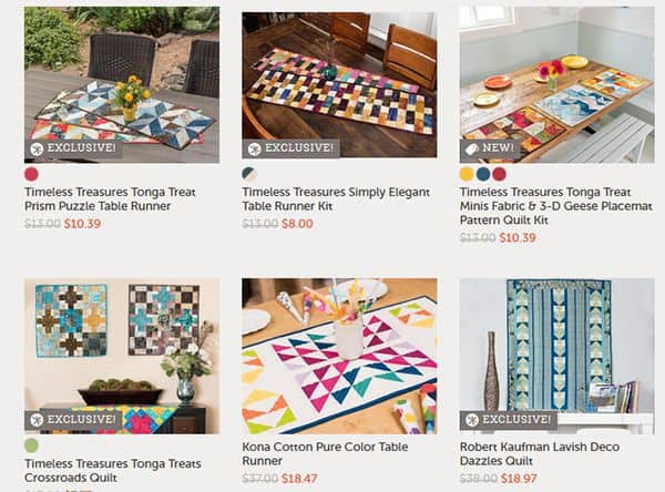 Quilt kits on sale