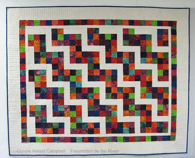Confetti Steps quilt pattern
