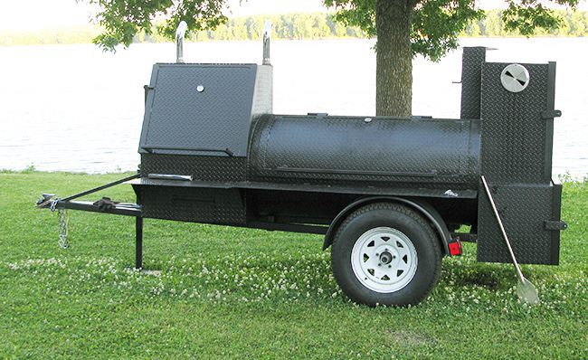 Smoker Grill Cooker front