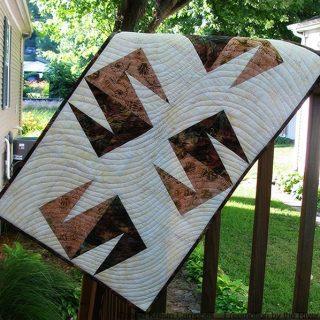 Modern Wind made with Island Batik fabrics