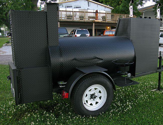Smoker grill back