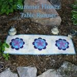 Summer Flower Table Runner Tutorial