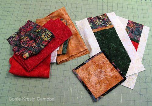 Holiday Runner fabrics