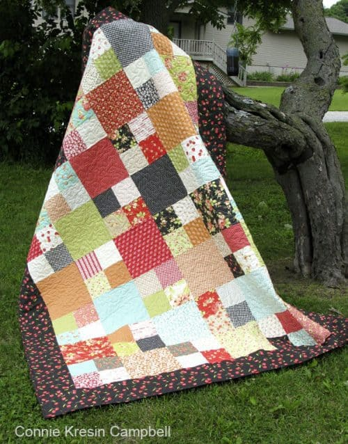 Checkmate quilt pattern from Fat Quarter Shop