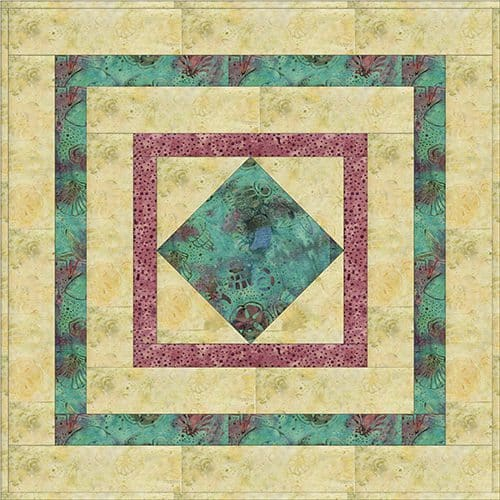 Final Square in a Square Table Topper Easy Tutorial