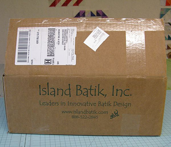 Island Batik Ambassador Box of Fabrics August 2016