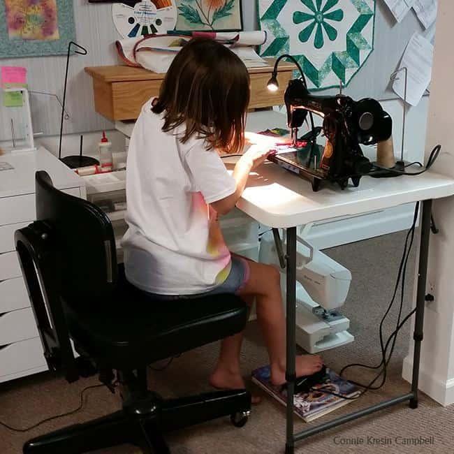 Kier favorite vintage sewing machine