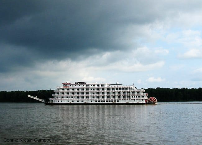 Queen of the Mississippi Riverboat on Mississippi