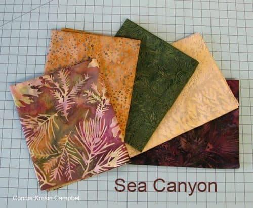 Sea Canyon Batik Giveaway