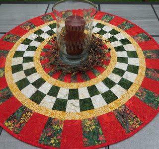Island Batik Table Topper