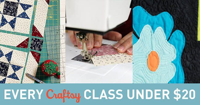 Craftsy classes on sale