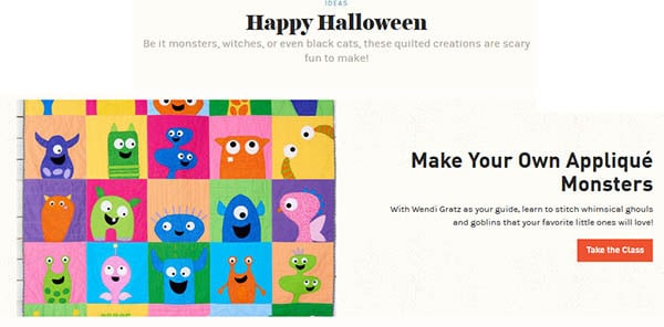Applique Monsters